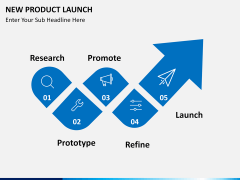 New Product Launch PPT slide 1