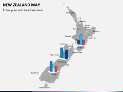 New zealand map PPT slide 13