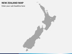New zealand map PPT slide 6