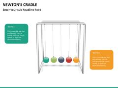 Newton's cradle PPT slide 10