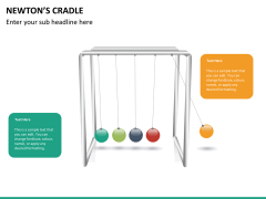 Newton's cradle PPT slide 11