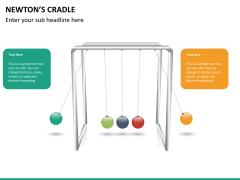 Newton's cradle PPT slide 12