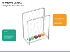 Newton's cradle PPT slide 15