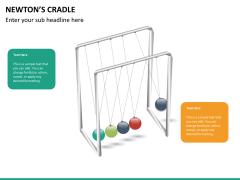 Newton's cradle PPT slide 16