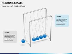 Newton's cradle PPT slide 6