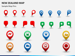 New zealand map PPT slide 20