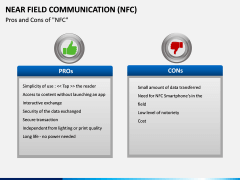 Near Field Communication PPT slide 14