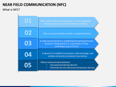 Near Field Communication PPT slide 2