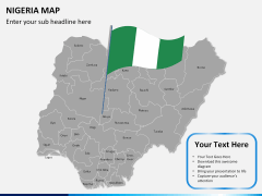 Nigeria map PPT slide 19