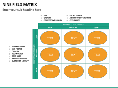 Nine field matrix PPT slide 14