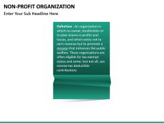Non-Profit Organization PPT slide 17