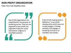 Non-Profit Organization PPT slide 19
