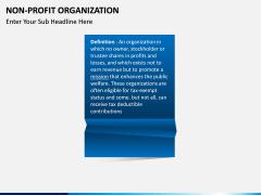 Non-Profit Organization PPT slide 2