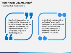 Non-Profit Organization PPT slide 4
