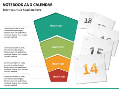 Notebook calendar PPT slide 15
