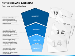 Notebook calendar PPT slide 7