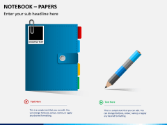 Notebook papers PPT slide 2
