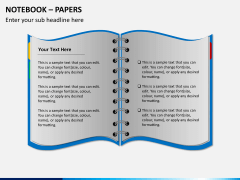 Notebook papers PPT slide 3