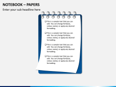 Notebook papers PPT slide 4