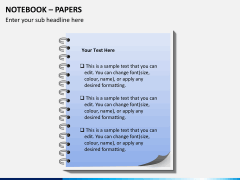 Notebook papers PPT slide 6