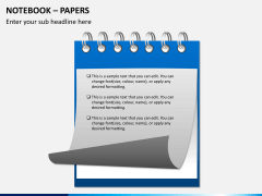 Notebook papers PPT slide 7