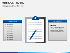 Notebook papers PPT slide 9