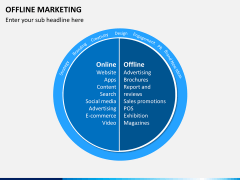 Offline marketing PPT slide 1