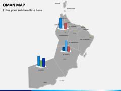 Oman map PPT slide 15