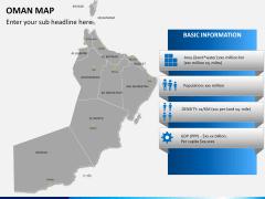 Oman map PPT slide 16