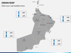 Oman map PPT slide 17
