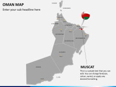 Oman map PPT slide 18