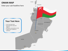 Oman map PPT slide 19