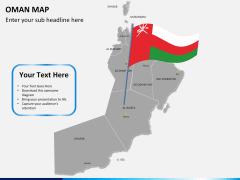 Oman map PPT slide 19