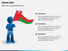 Oman map PPT slide 22