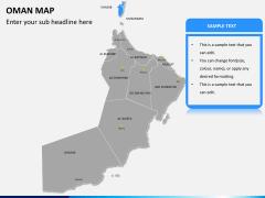 Oman map PPT slide 9