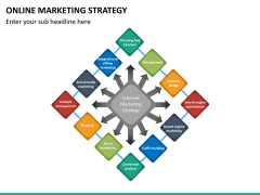 Online marketing strategy PPT slide 22