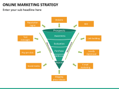 Online marketing strategy PPT slide 23