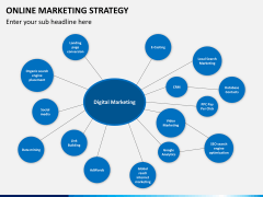 Online marketing strategy PPT slide 12