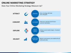 Online marketing strategy PPT slide 4