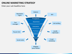 Online marketing strategy PPT slide 8