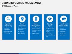 Online reputation management PPT slide 4