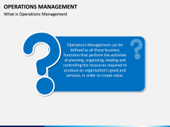 Operations Management PPT slide 2