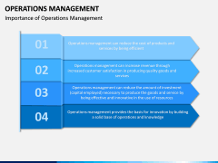 Operations Management PPT slide 8