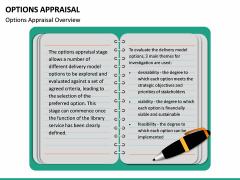 Options Appraisal PPT slide  7