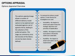Options Appraisal PPT slide  1