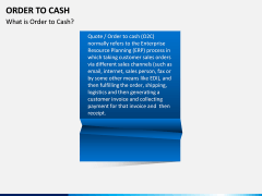 Order to Cash PPT slide 2