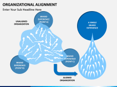 Organizational alignment PPT slide 1