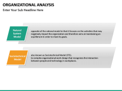 Organizational analysis PPT slide 18