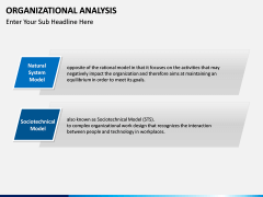 Organizational analysis PPT slide 7