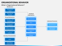 Organizational behavior PPT slide 1